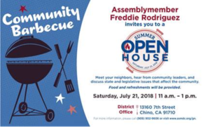 Freddie Rodriguez Open House @ Assemby Office